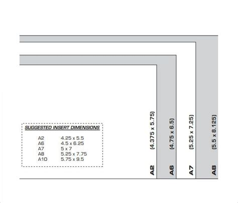 sle a7 envelope template best 25 envelope size chart ideas on
