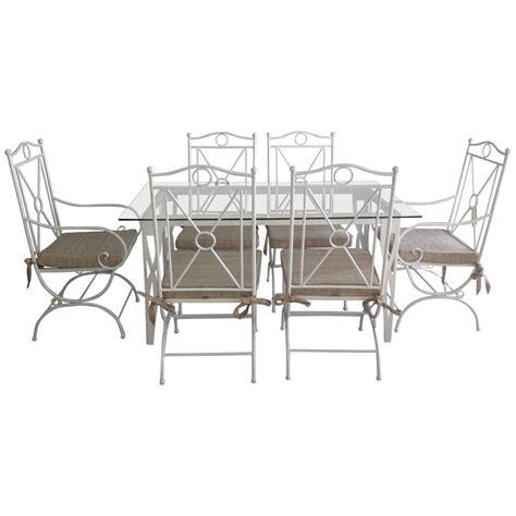 wrought iron patio dining sets handmade white wrought iron patio dining set garden