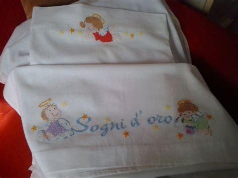lenzuola da culla lenzuola per culla o carrozzina con angeli bambini per