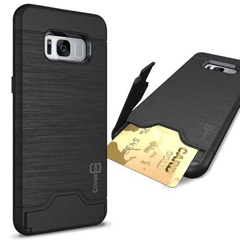 for samsung galaxy s8 phone card holder kickstand