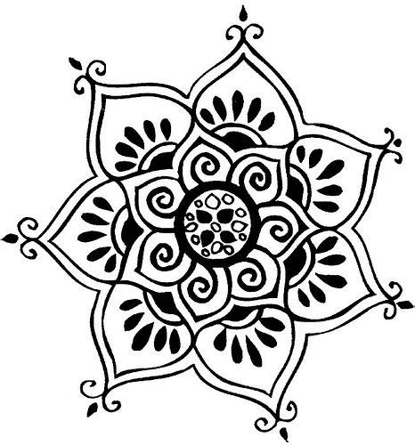 1000  Ideas About Simple Mandala On Pinterest Designs sketch template