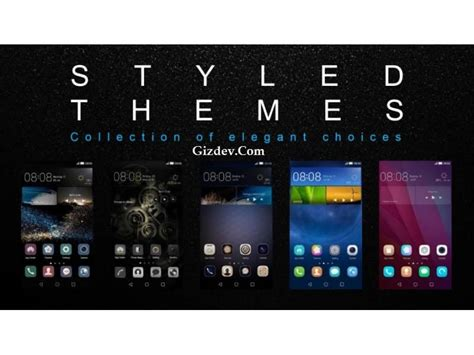 huawei emui 3 themes themes download stock huawei p8 emui 3 1 themes