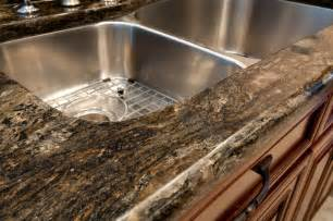 Granite edge half bullnose edge kitchen countertops dc metro