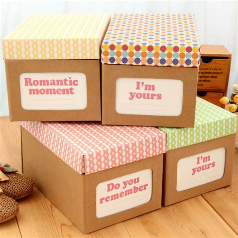 shoe box storage diy free shipping multifunctional diy home cowhide paper