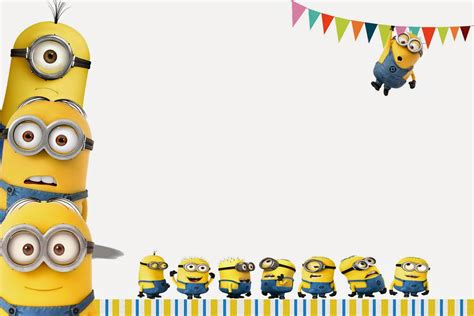 birthday themes minions pics for gt minion birthday invitations template