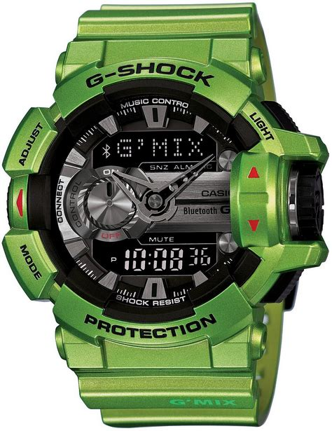 gshock gba 400 g mix green blue live photos g shock g mix gba 400 3bjf bluetooth