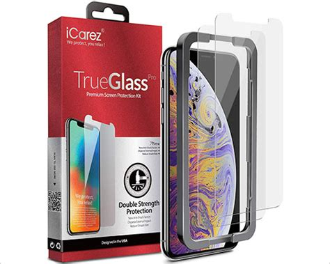 best iphone xs max tempered glass screen protectors