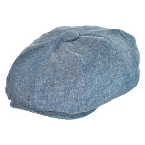 Boy Hat san diego hat company chambray newsboy cap boys