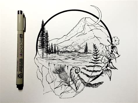 draw tattoo yourself pen derek myers is creating daily drawings tattoo tatting