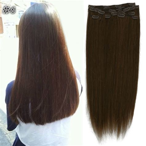 150g hair extensions new 18 quot 20 quot 24 quot clip in 100 remy human hair