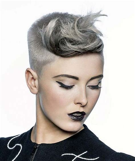 how to get a paula deen haircut hairstyle gallery platinum buzzed pixie awesome asymmetric pixie s