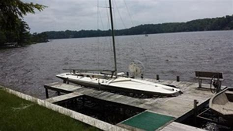 melges x boat price 1991 melges e scow 28 foot 1991 sailboat in muskegon mi