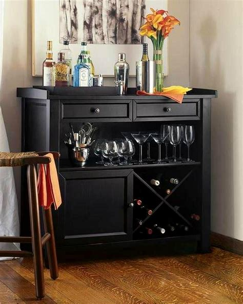 black wine cabinet furniture wooden black wine storage console sideboard buffet cabinet