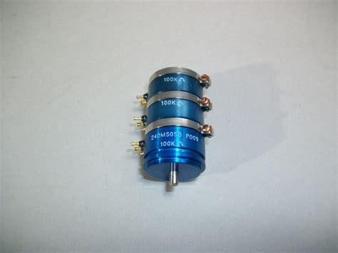precision variable resistors servo instruments 14w3 2069 non wirewound precision variable resistor new mavin the webstore