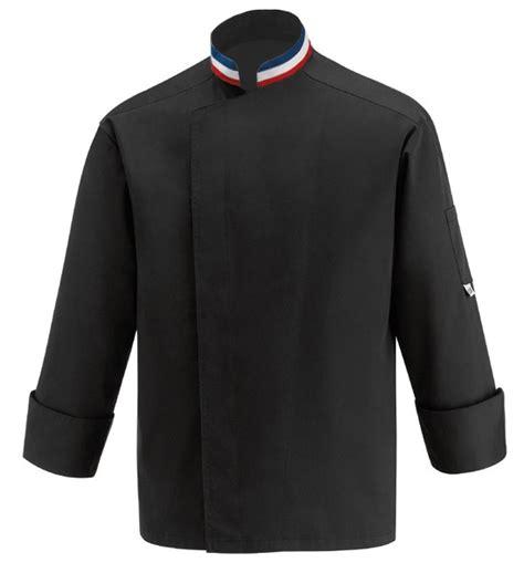 broderie veste de cuisine veste cuisine couleur 1 veste de cuisine mof col bleu