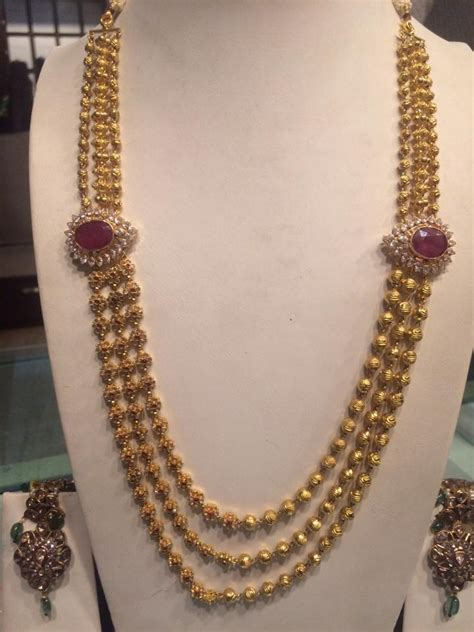 new pattern gold necklace chandra haram new pattern boutiquedesignerjewellery com