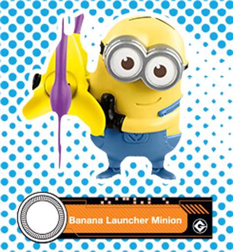 Mainan Despicable Me 3 Minion Banana Launcher Minions No10 Mcd 2017 mcdonald s illumination despicable me 3 banana launcher minion