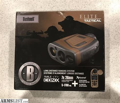 Rangefinder Bushnell Elite 1 Mile Arc 7x 26mm 202421 armslist for sale bushnell elite tactical 1 mile arc