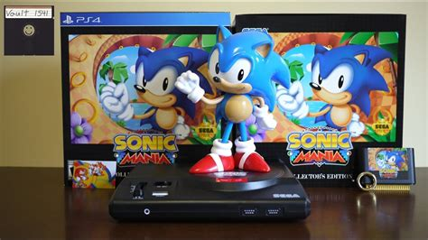 Sonic Mania Collector Edition Ps4 sonic mania collector s edition ps4 unboxing gameplay