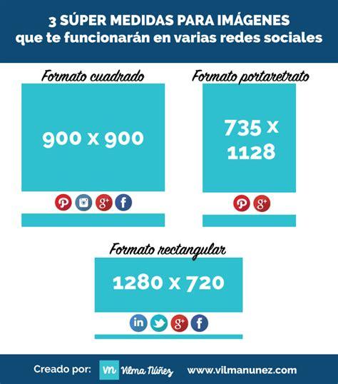medidas imagenes redes sociales 2015 3 medidas de im 225 genes que sirven en todas las redes sociales
