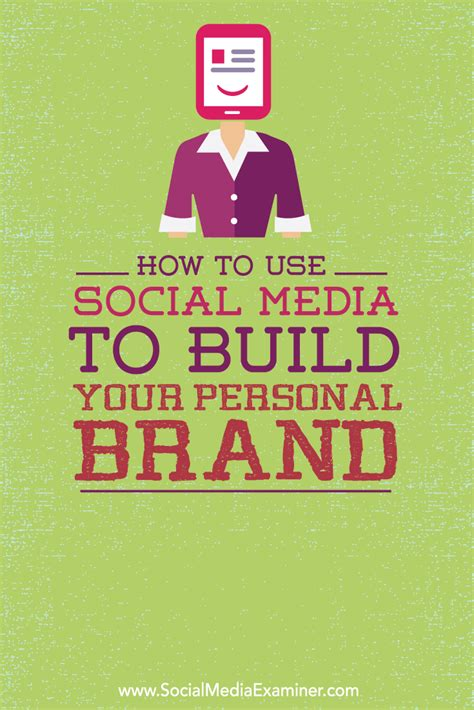 How To Make Your Brand - how to use social media to build your personal brand
