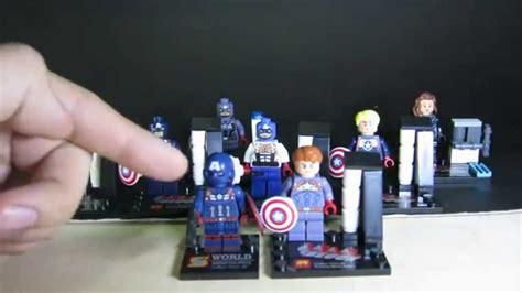 Lego Bootleg Capt America lego marvel superheroes captain america lele bootleg