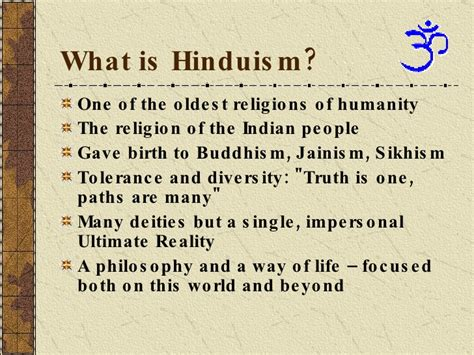 what is religion what is hinduism