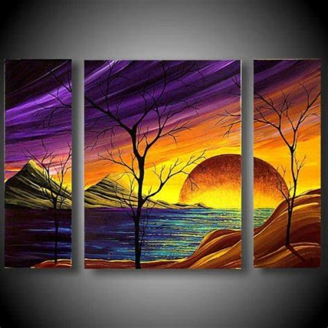 acrylic painting scenery best 25 scenery paintings ideas on