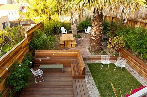 sloped backyard design ideas back yard landscaping ideas landscape design ideas for