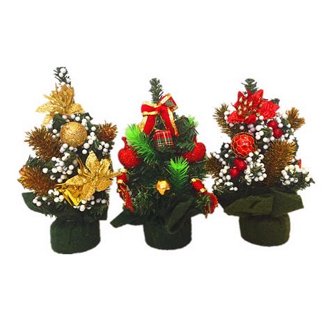 mini desk christmas tree ebluejay mini christmas xmas tree desk decoration