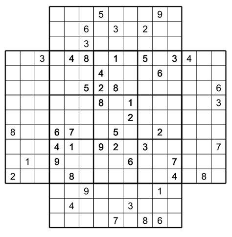 printable hyper sudoku beste sudoku 5x5 ideen ideen f 228 rben blsbooks com