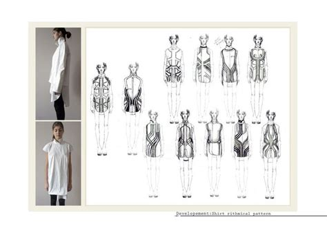 pattern design development fashion portfolio fashion design process exploring