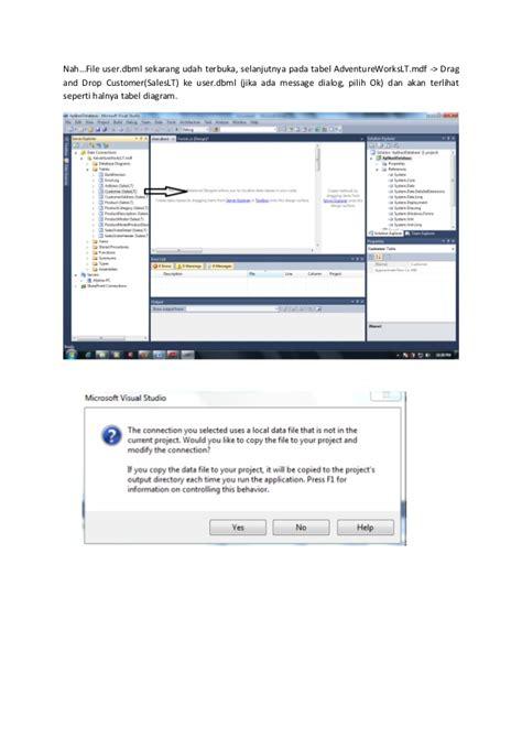 membuat database form membuat aplikasi database dengan windows form application