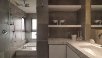 Modern Neutral Bathroom Ideas Neutral Contemporary Space Bathroom Interior Design Ideas