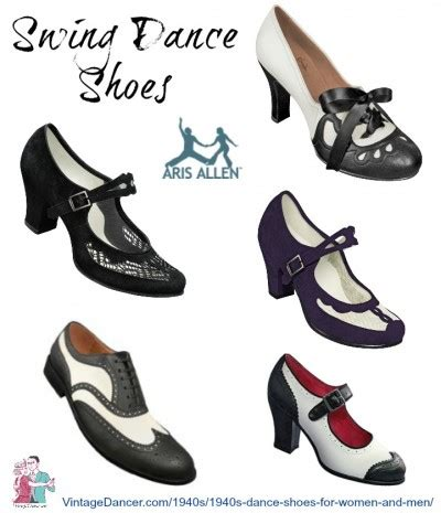 ta swing dance vintage style 1940s dance shoes