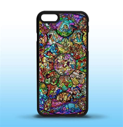 Iphone 5 Sai 7 Plus Custom Softcase Casing Sinar Ba 007 disney stained glass custom iphone 5 5s 5c 6 6s 6 6s plus 7 7 plus ebay