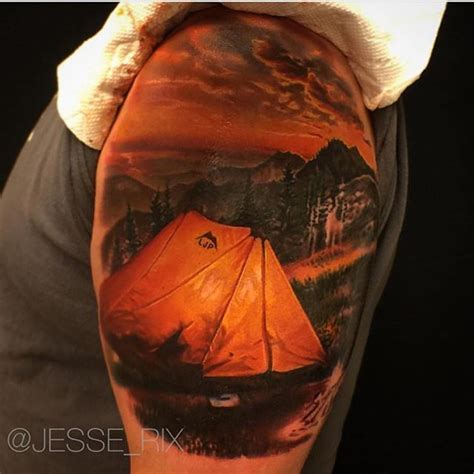tent tattoo 25 best ideas about cing on simple