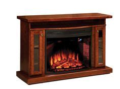 electric fireplace tv stand on menards