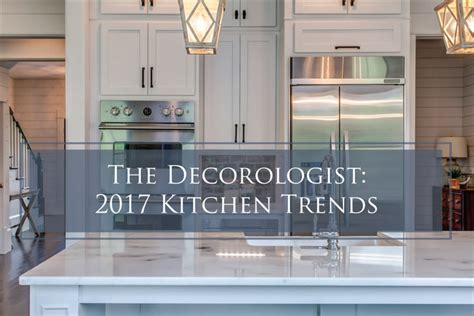 kitchen color trends for 2017 report dig this design the decorologist reports 2017 kitchen trends the