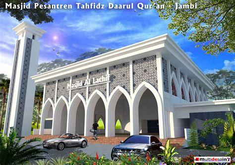 design gerbang masjid desain masjid multidesain arsitek