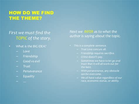 themes in stories we tell teaching theme with finding nemo