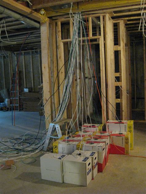 low voltage wiring new construction new construction smart home wiring digital21 smart home