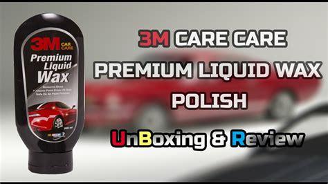 3m Car Care Premium Wax 350ml 3m auto specialty premium liquid wax for exterior unboxing review