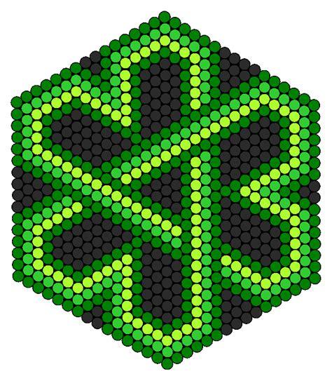 celtic bead patterns celtic knot shamrock perler bead pattern bead sprites