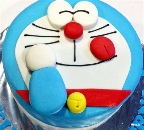 Doraemon Cake Wallpaper | doraemon birthday cake hd wallpaper