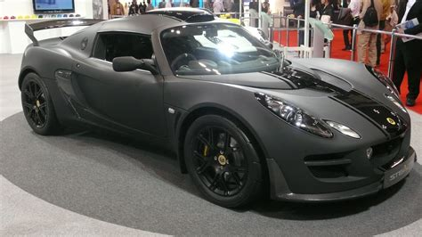 matte black lotus file matt black lotus exige stealth at the tokyo motor