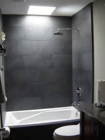 Gray Bathroom Tile Ideas by 37 Grey Slate Bathroom Wall Tiles Ideas And Pictures