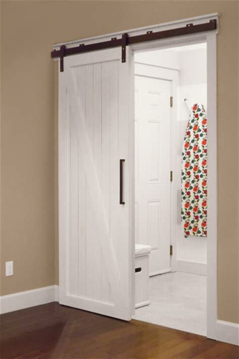 Barn Door Cost 3 interior barn door 9 creative low cost upgrades from our favorite this house