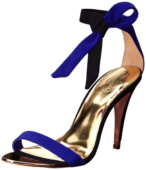 blue high sandals ted baker sackina high heel dress sandal