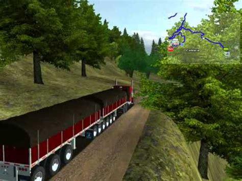 map mex usa canada haulin 18 wheels of steel haulin quot mex usa canada alaska map v4